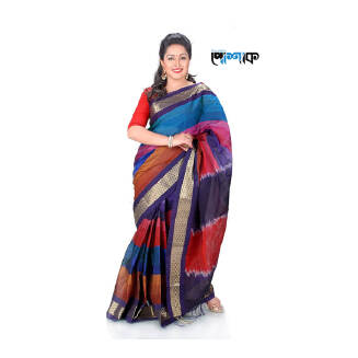 Maslice Cotton Saree - TB-461 - POSHAK