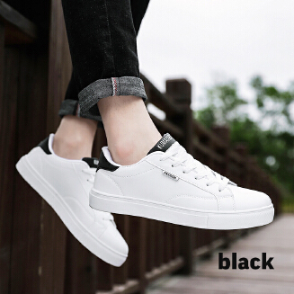 White casual shoes trend sports men's shoes JX0425 8614 EID Shoes
