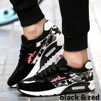 Men's sports shoes breathable mesh panel shoes youth running cushion shoes JX0425 XD99 EID Shoes