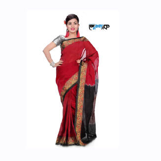 Maslice Cotton Saree - TB-490 - POSHAK