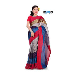 Maslice Cotton Saree - TB-504 - POSHAK