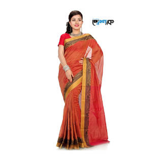 Maslice Cotton Saree - TB-502 - POSHAK