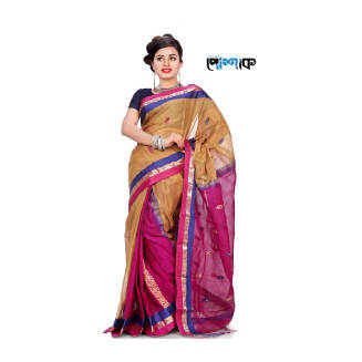 Maslice Cotton Saree - TB-507 - POSHAK