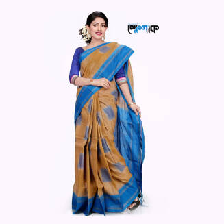 Maslice Cotton Saree - TB-515 - POSHAK